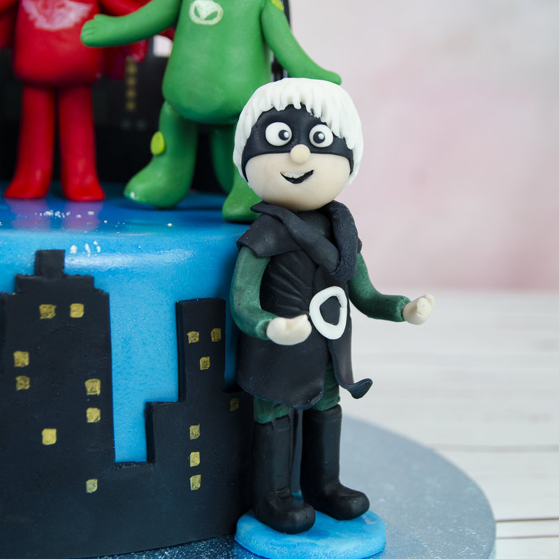 Tort Figurine Eroi in Pijamale
