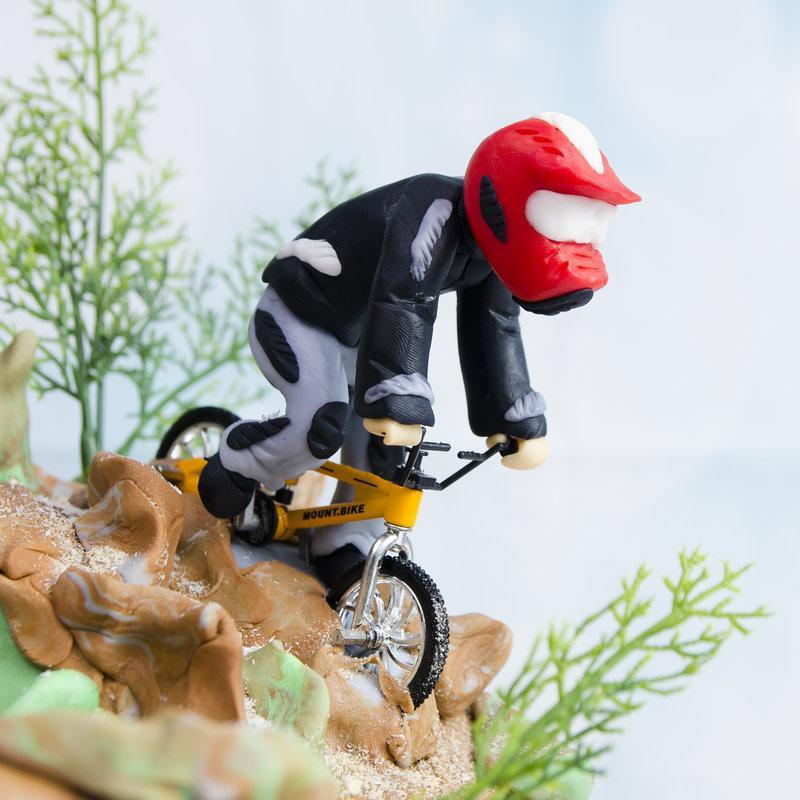 Tort pentru baiat Mountain Bike