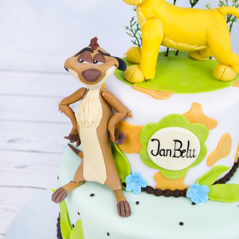 Tort Copii Figurine regele Junglei