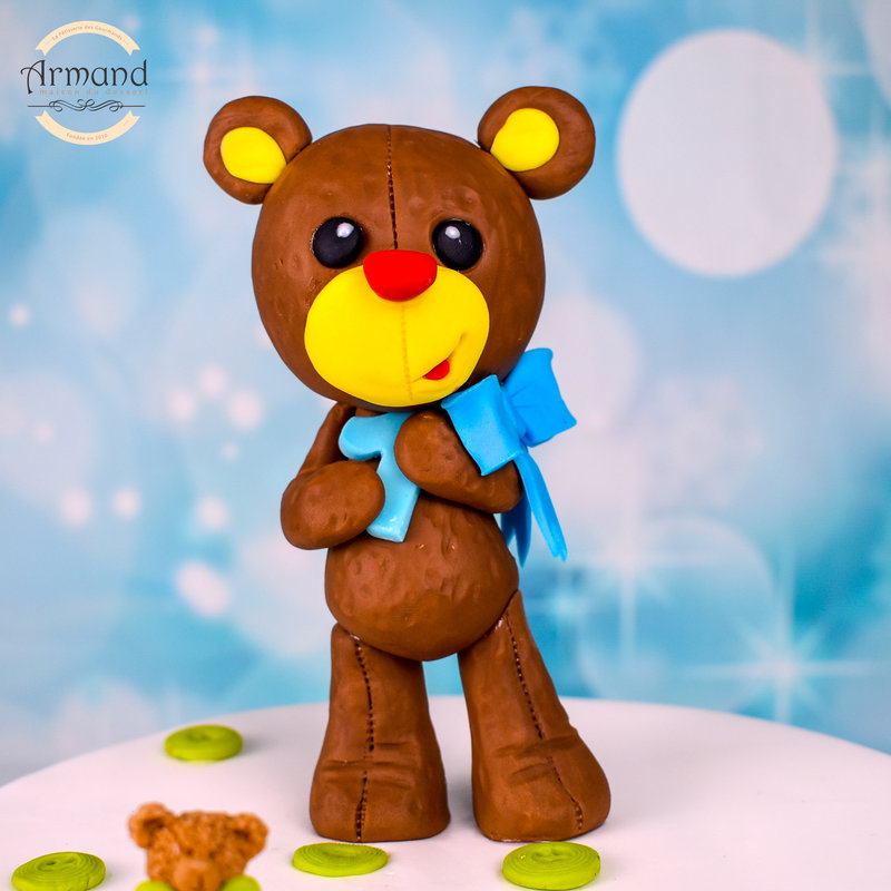 Tort Teddy bear