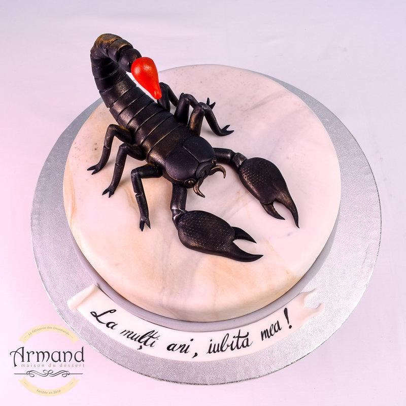 Tort  Scorpion negru
