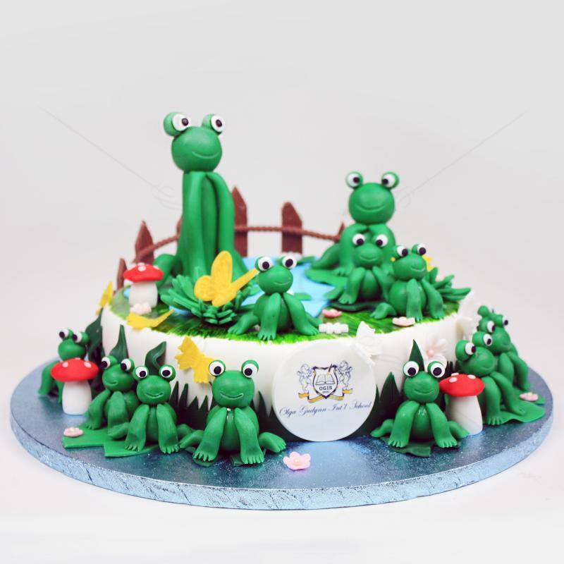 Tort broscute