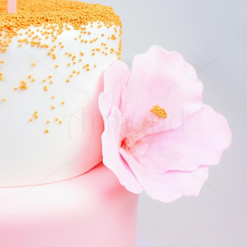 Tort flamingo