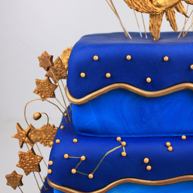 Tort Constelatii albastru