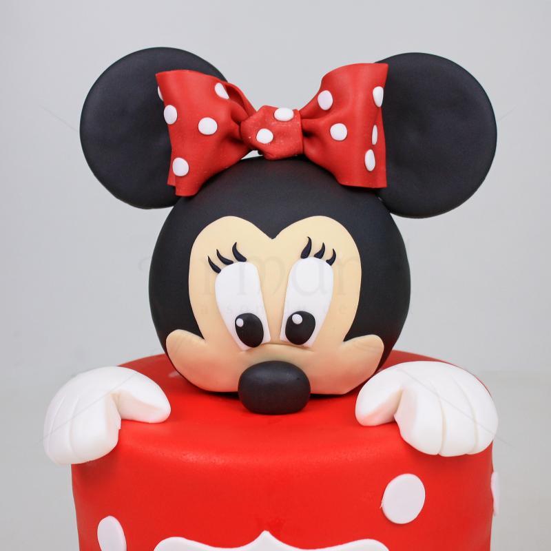 Tort Mickey rosu
