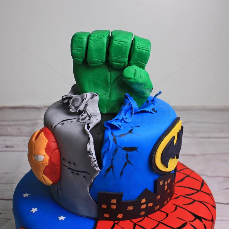 Tort Supereroi Marvel