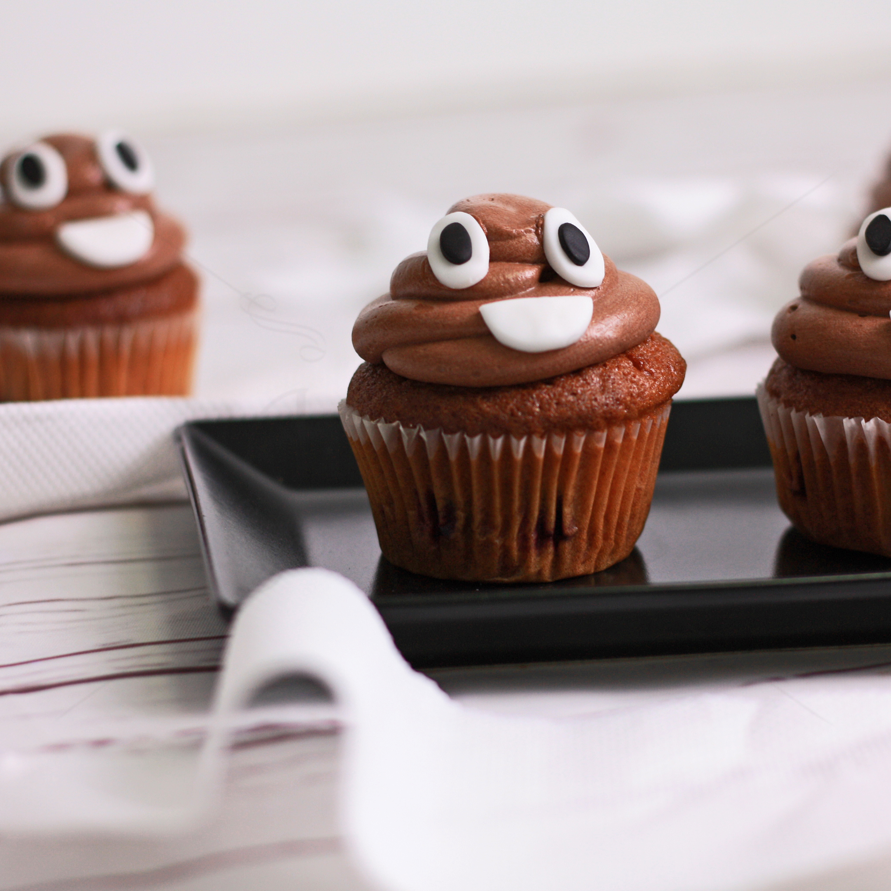 Cupcake ciocolata