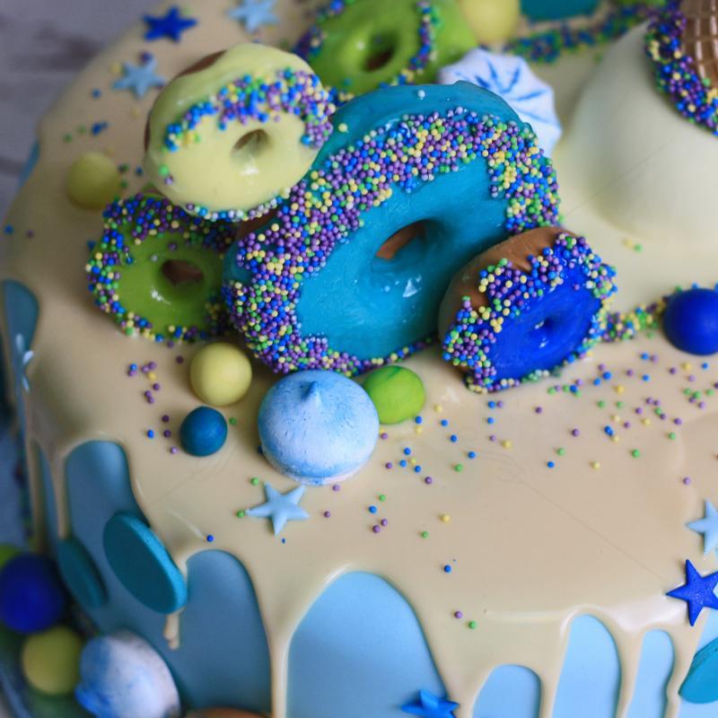 Tort Gogosi si con de inghetata