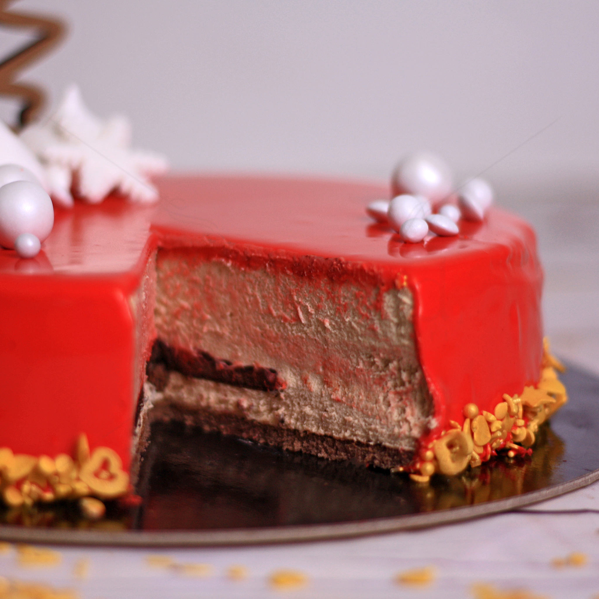 Tort Amaretto Christmas