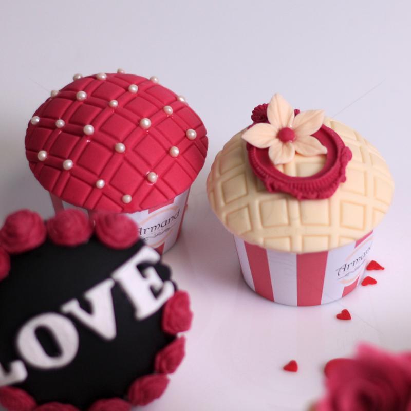 Cupcake colectie Valentine's love