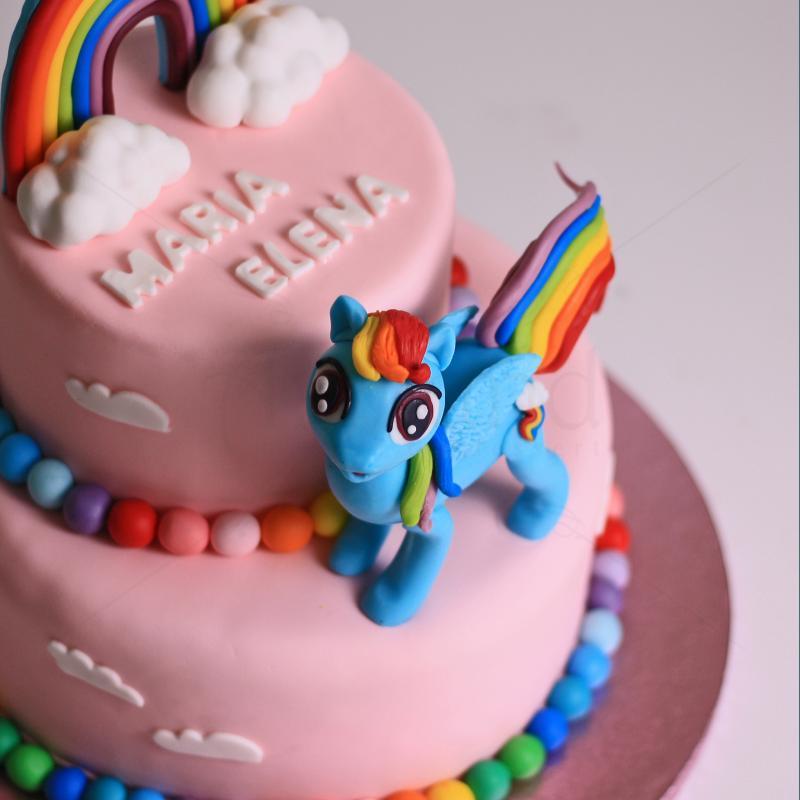 Tort Unicorn Rainbow Dash