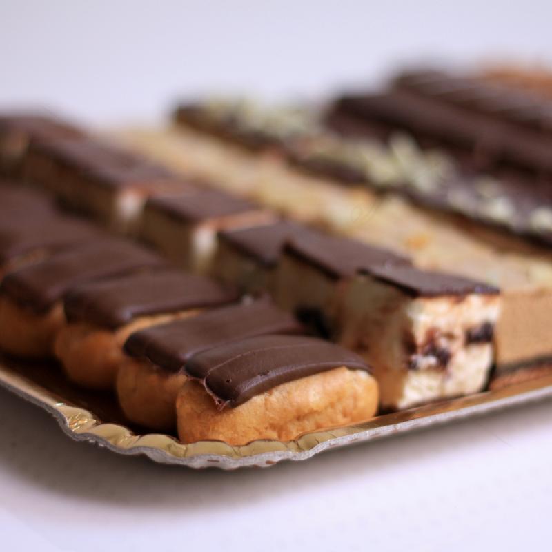 Platou aniversar Ciocolata