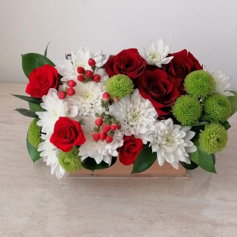 Aranjament floral Red Roses