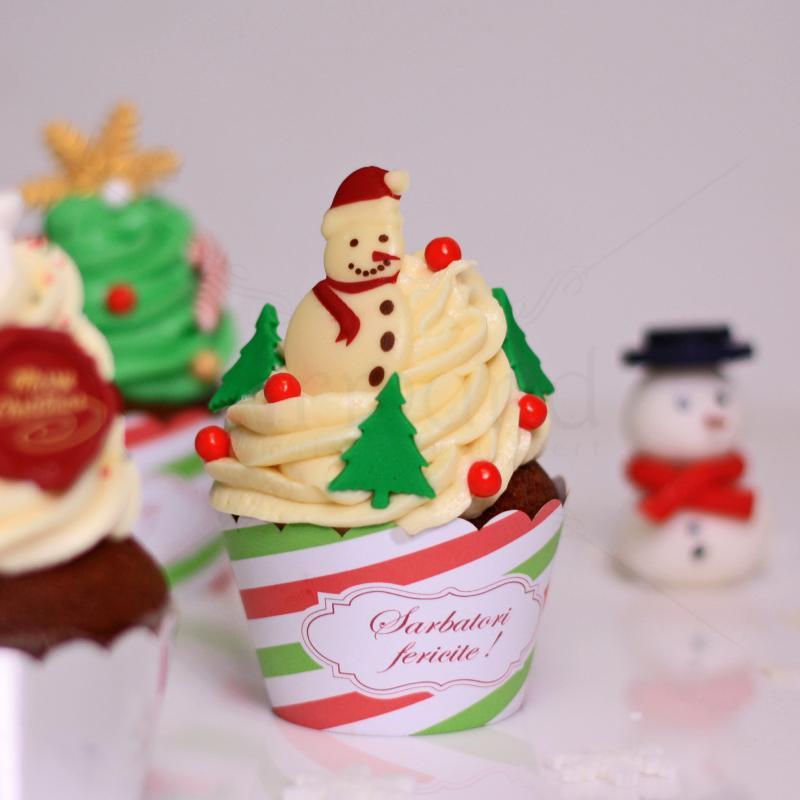 Cupcakes colectie Craciun