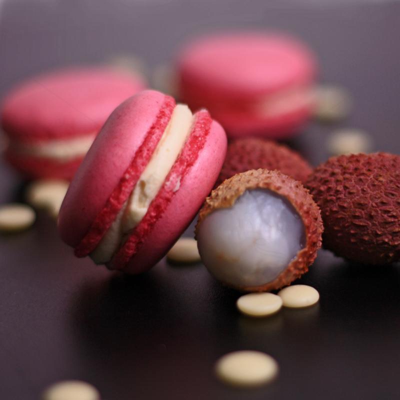 Macaron Litchi