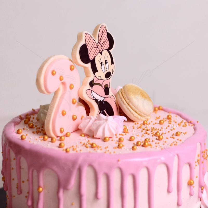 Tort frosting Minnie