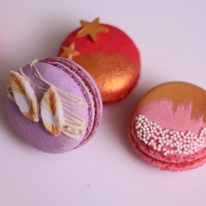 Macarons asortat elegant