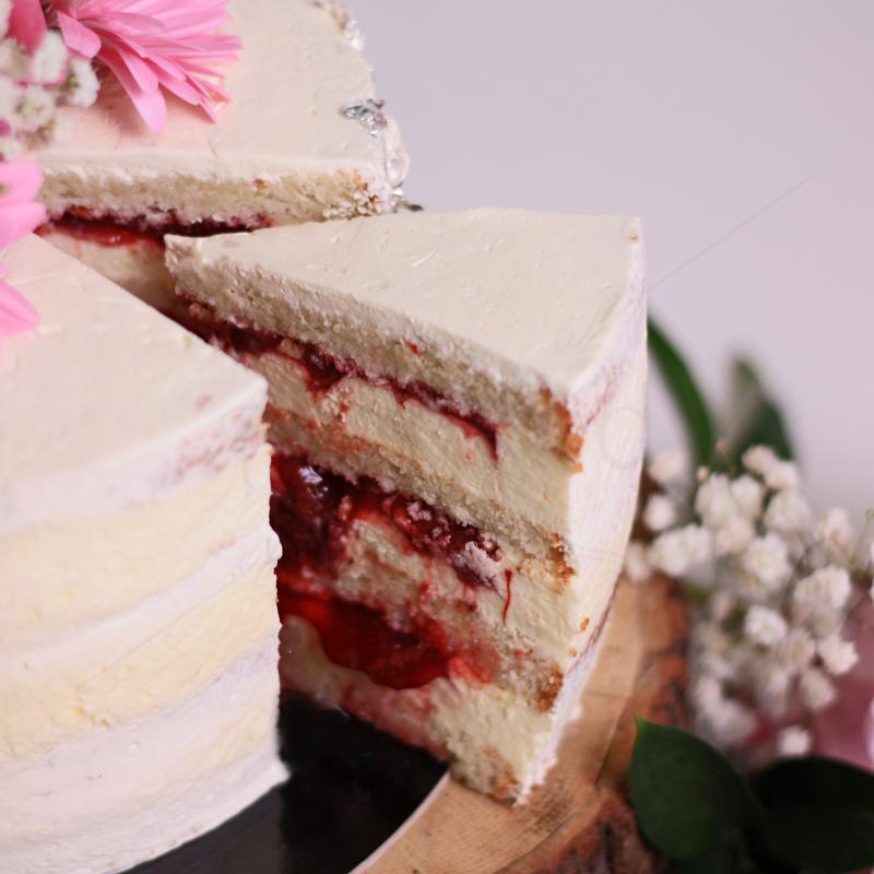 Tort White Velvet