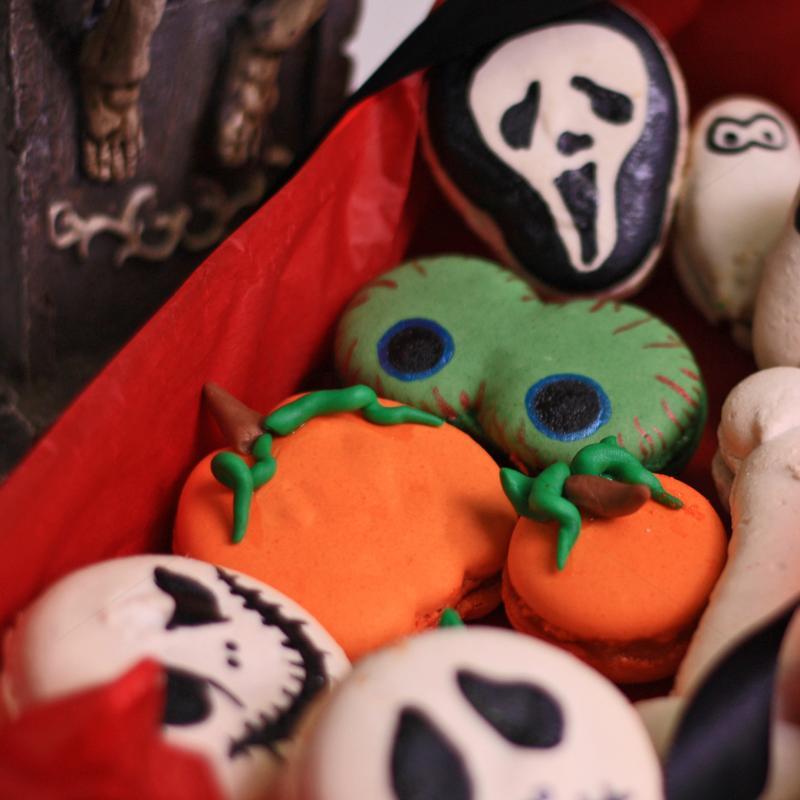 Cutie macarons Halloween