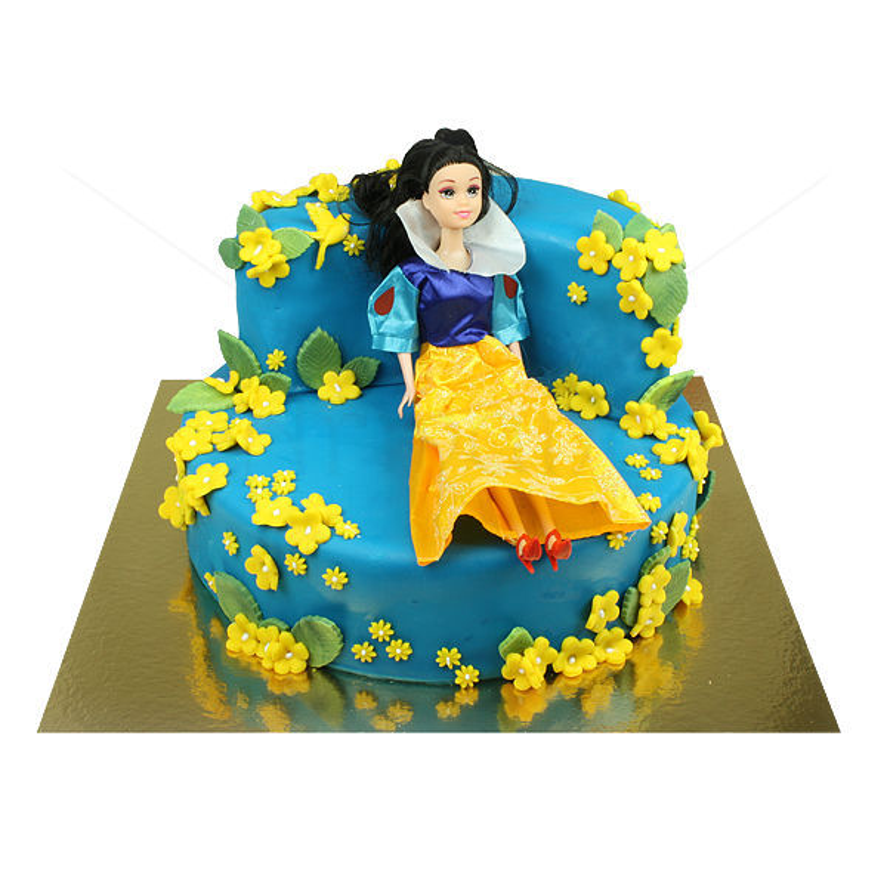 Tort Fotoliu Alba ca Zapada