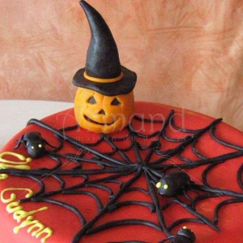 Tort Halloween Panza de paianjen
