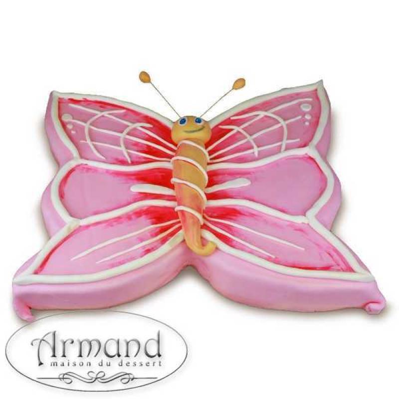 Tort Fluturas roz 2