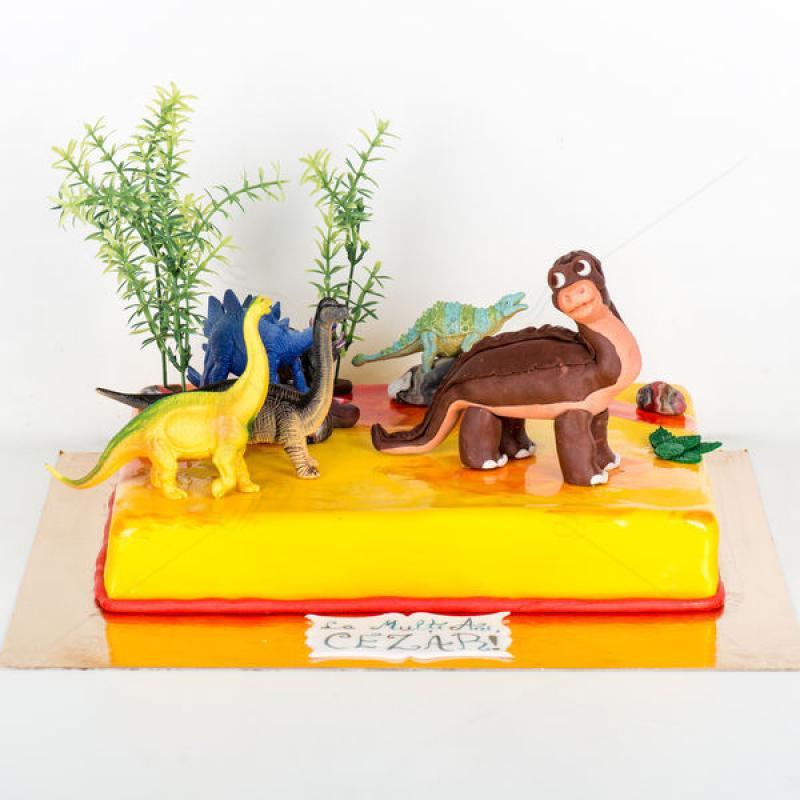 Tort Dinozaur Piciorus Mic