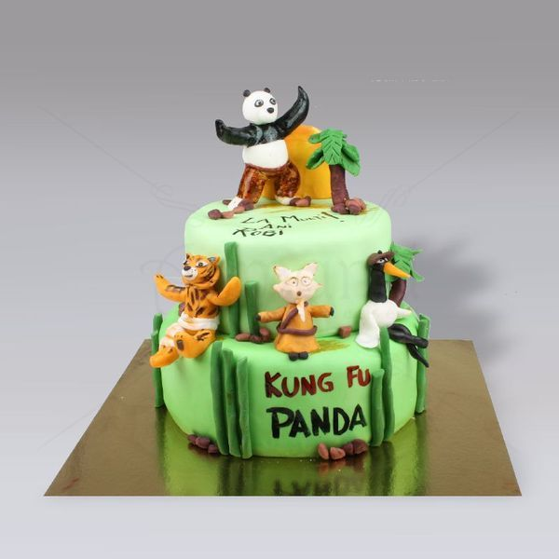 Tort Kung Fu Panda  pe etaje