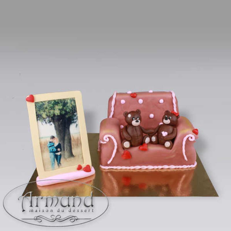 Tort Canapea si rama foto