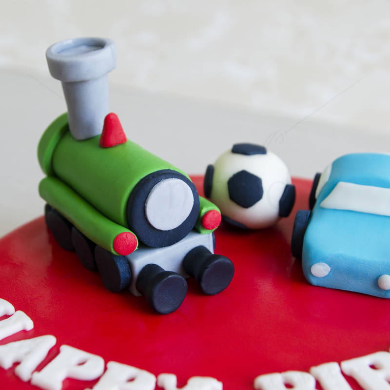 Tort Trenulet si masinuta