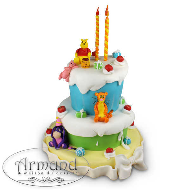 Tort Winnie si prietenii (rotund)