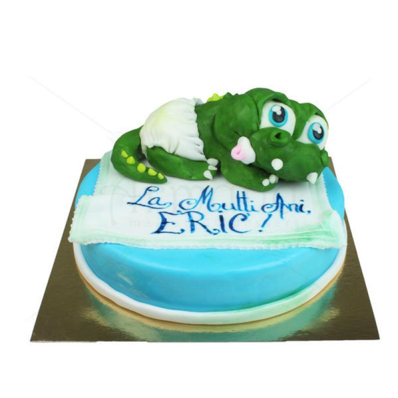 Tort Bebe Crocodil