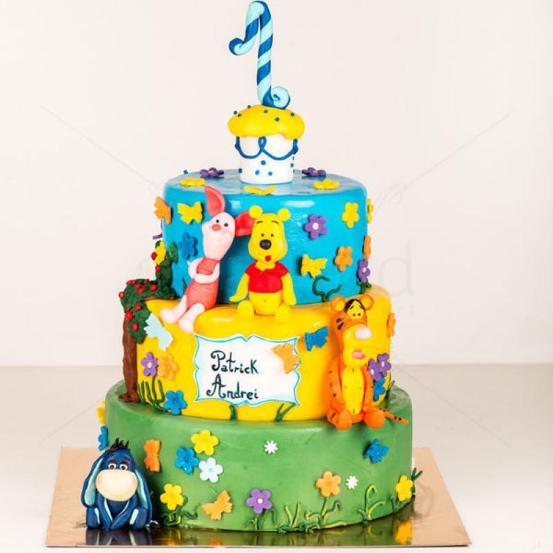 Tort Winnie si prietenii - 1 an