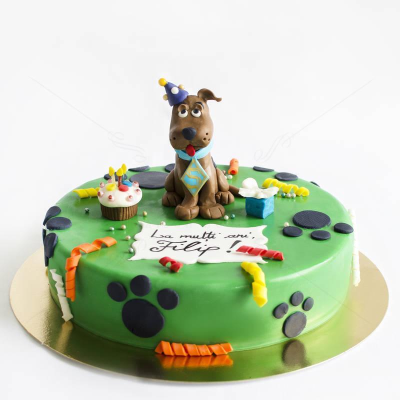 Tort Scooby Doo figurina
