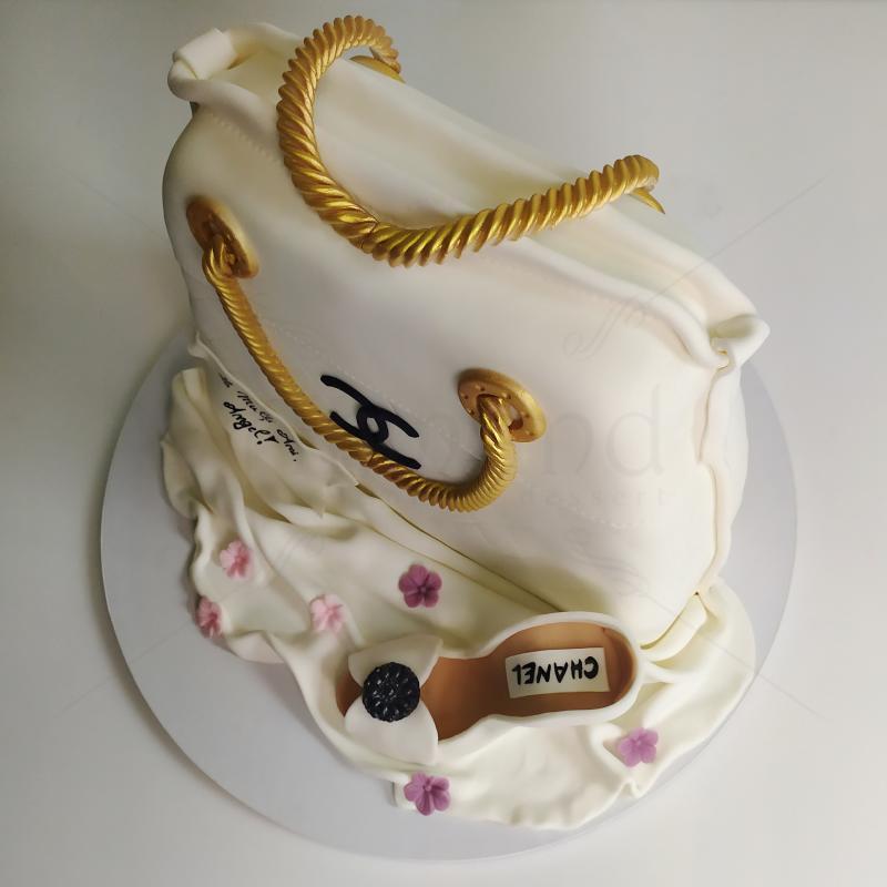 Tort Geanta si pantof