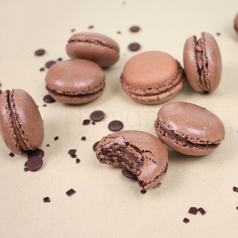 Macaron Ciocolata Gianduja