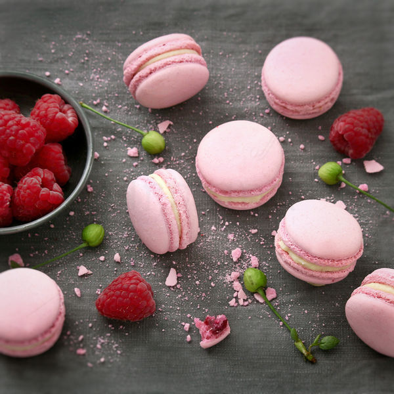 Macaron Zmeura - Pearl