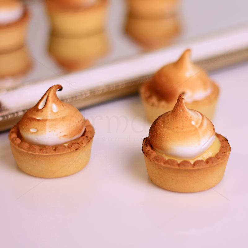 Mini tarte Lemon Pie