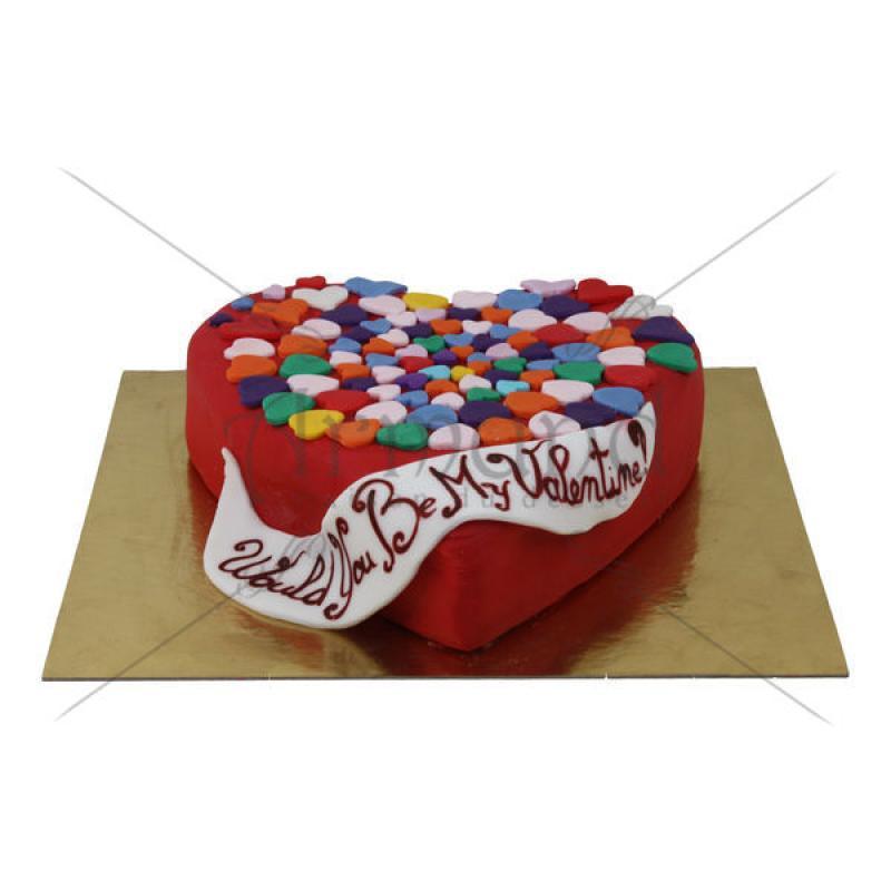 Tort Inima Valentines Day