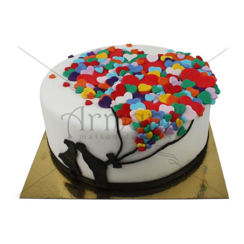 Tort Baloane Inimioare